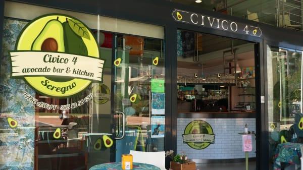 Ingresso - Civico 4 Avocado Bar & Kitchen, Seregno