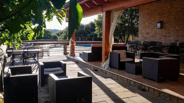 Terraza - Hotel- Restaurant Villaró del Bosc