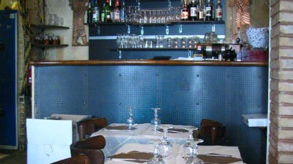 Vista sala y barra - Les 2 Ours - Chez Elham, Paris