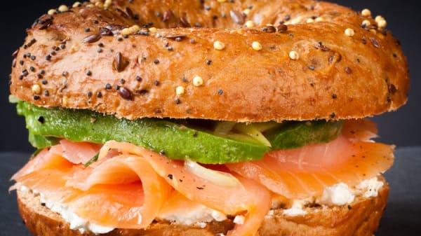 Bagel de Salmon - El Gran Café - Sant Cugat, Sant Cugat del Vallés
