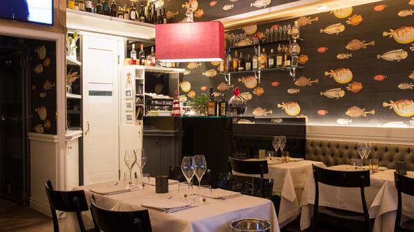 Location - AlexAmber Fish Cuisine, Milano