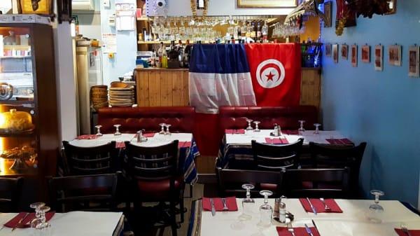 Vue de la salle - Chez Jaafar, Paris