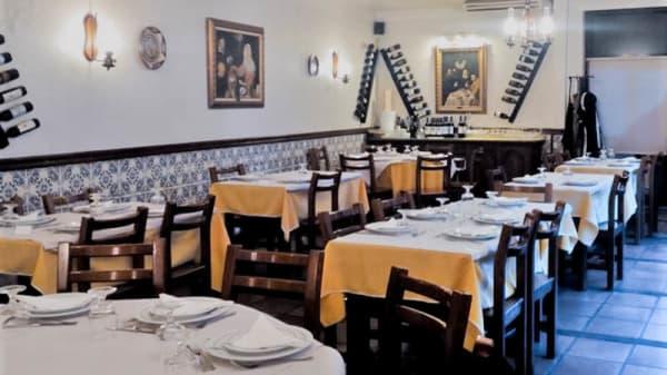 Vista da sala - Restaurante Marquês d'Avenida, Sao Mamede de Infesta