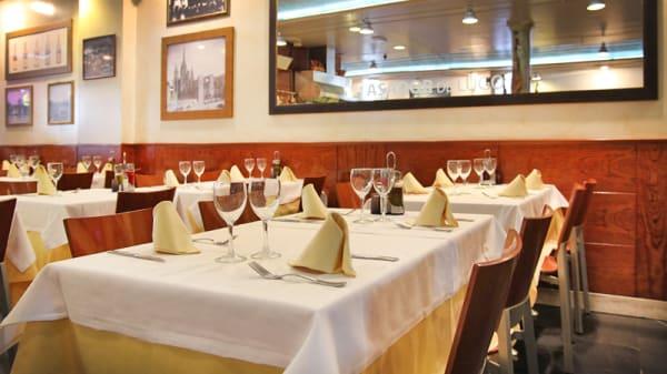 mesas montadas - Asador de Lugo, Barcelona