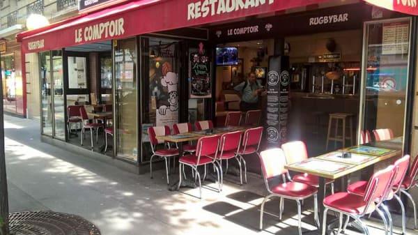 Entrée - Le Comptoir Vouillé, Paris
