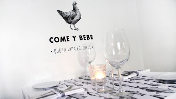 Detalle decoración - Taberna L'Obrador, Madrid