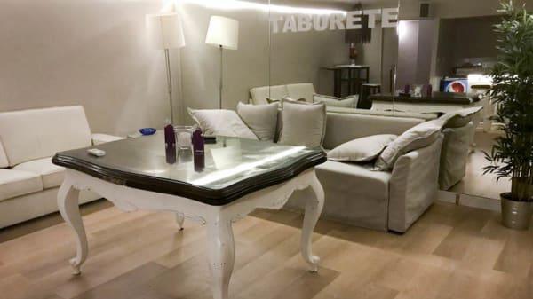 Vista de la sala - El Taburete, Madrid
