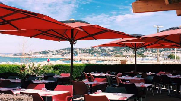 terrasse - O Zen la Mer, Marseille