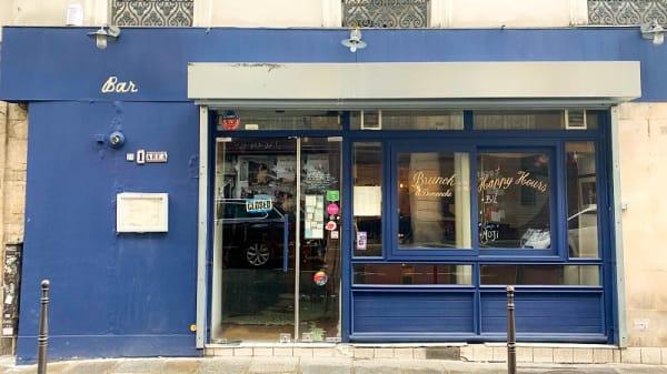Entrée - L'Area, Paris