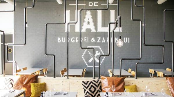 Het restaurant - de HALL | burgerEi & zakenlui, Woerden