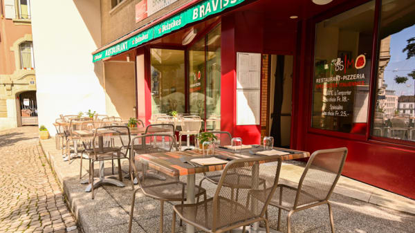 terrasse - Pizzeria Bravissimo, Lausanne