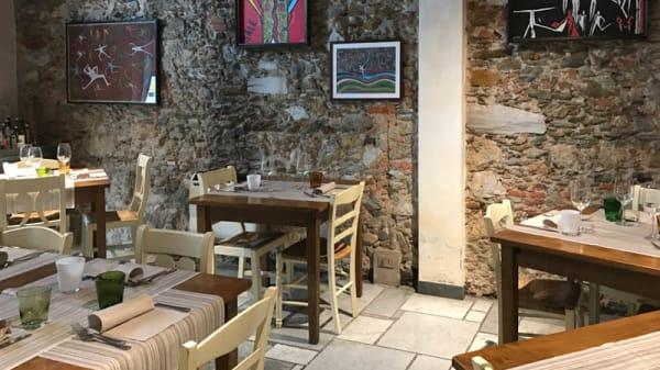 Salone ristorante - La Volpe e L'Uva, Pietrasanta