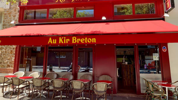 Devanture - Au Kir Breton, Paris