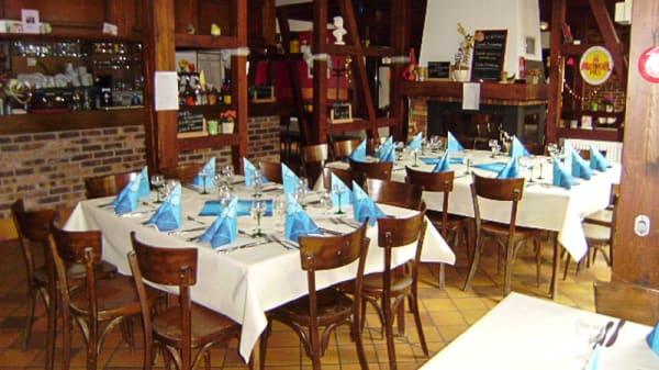 Petite salle brasserie - Auberge de l'Ackerland, Saessolsheim