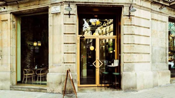 Vista entrada - Dora, Barcelona