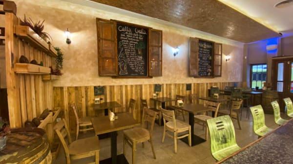 Vista de la sala - Calla Canalla - Inka Bar, Madrid