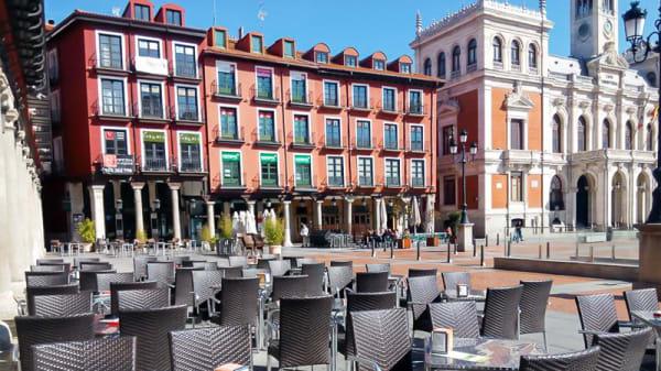 Vista terraza - Los Guajes, Valladolid