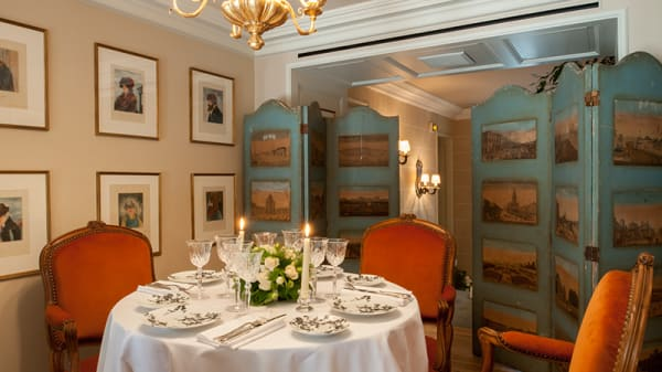 Salon Privé - Restaurant du Palais Royal, Paris