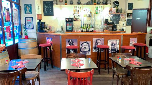 vue de la salle - Le Seiz'Maine, Paris