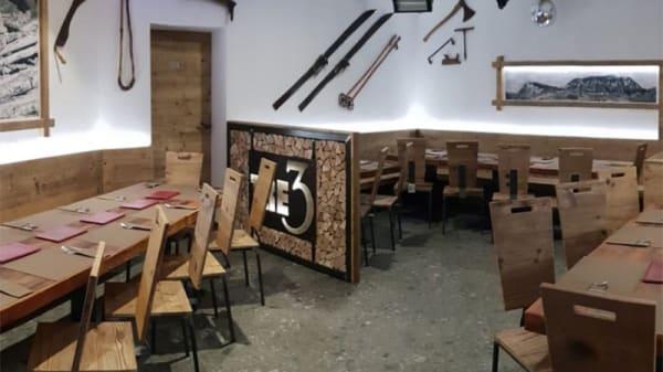 Vista della sala - Tre3 Pizzeria & Burgheria, Fai Della Paganella