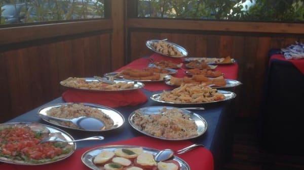 Zona buffet - Da Que Grulli, Campi Bisenzio