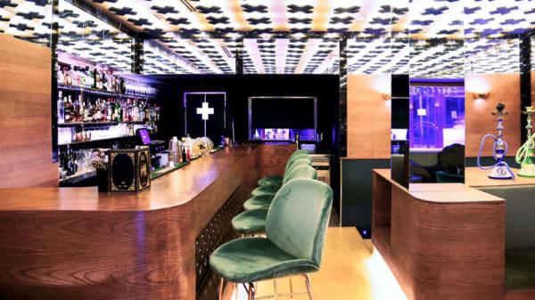 Barra del local - Embalados Gourmet & Holy Bar, Madrid