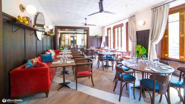 Salle du restaurant - Nola Restaurant, Paris