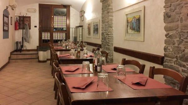 Vista sala - Ustaria dal Merca', Borgo Val Di Taro