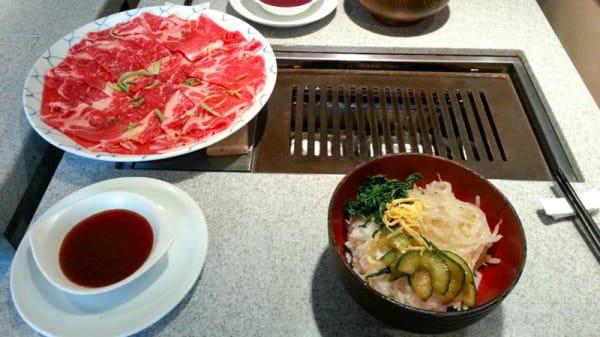 suggestion du chef - Korean Barbecue, Paris