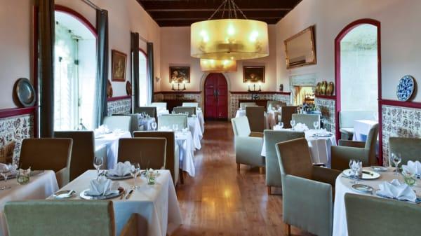 sala do restaurante - Pousada de Óbidos, Óbidos