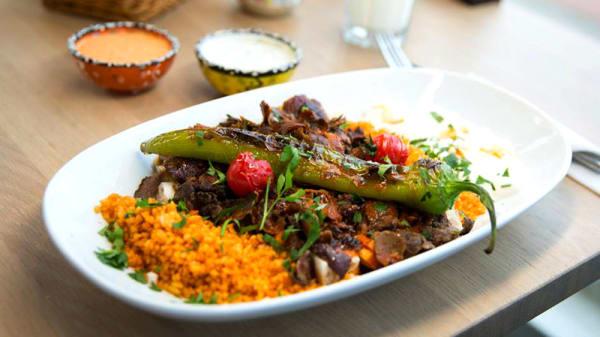 Het restaurant - Meneer Kebab, Amsterdam