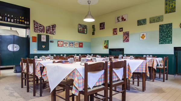 Vista sala - Trattoria del Frettoloso, Monza