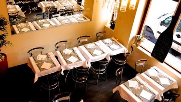 Salle du restaurant - Café comptoir L'Alhambra, Lyon