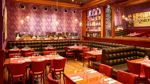 Salón reservado Restaurante Navarra - Navarra, Barcelona