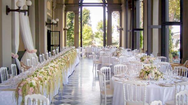 Sala del ristorante - La Loggia, Firenze