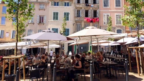 terrasse - Au Lamparo, Marseille