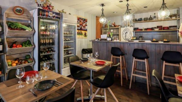 Salle du restaurant - Le Comptoir du Pérou, Paris