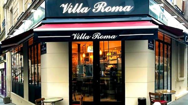 Entrée - Villa Roma, Paris