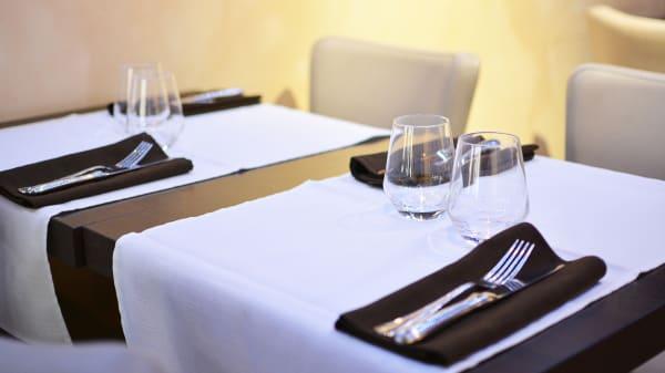 Table dressée - Le Madras, Strasbourg