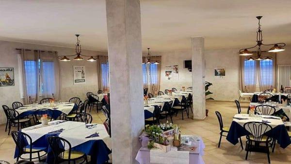 Vista sala - Osteria del Pescatore, Reggio Emilia
