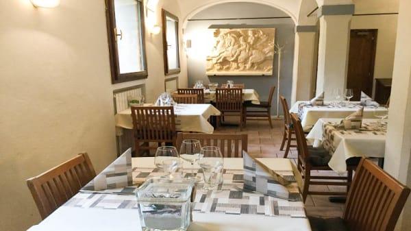 Vista sala - La Cantina del Latte, Pulce