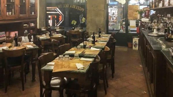 Vista sala - Pizzeria del Ticinese, Milan