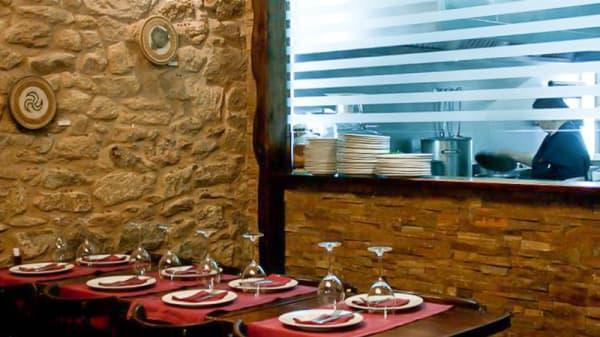 Vista sala - A Taberna de Cunqueiro, A Coruña