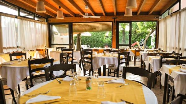 Veduta dell interno - Ristorante pizzeria Adamo, Soncino