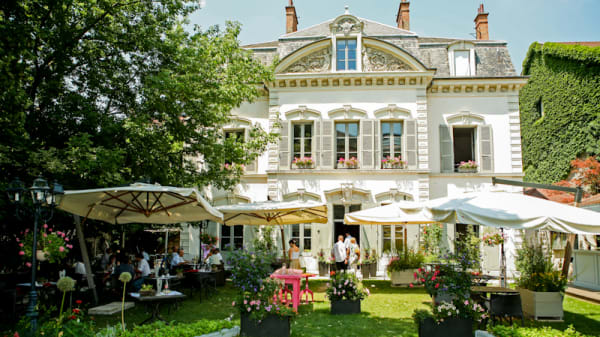 Jardin - Brasserie du Fantin, Grenoble