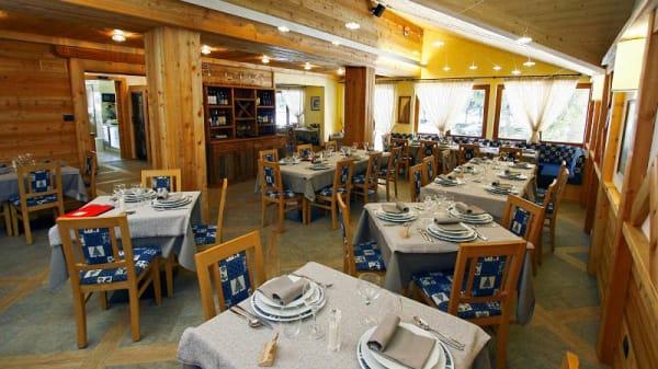 Vista sala - Lo Scoiattolo, Gressoney-La-Trinitè