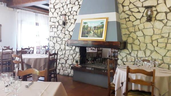 Vista della sala - Ristorante Dalla Mena, Ezzelino