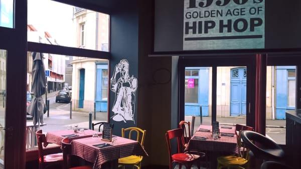 Salle du restaurant - Le Bistrot 90's, Nantes