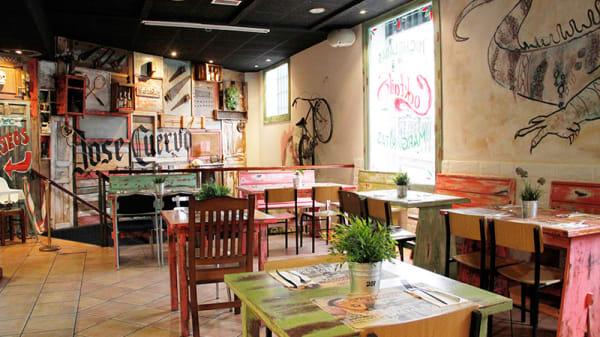 Sala del restaurante - Santa Canalla - San Martin, Madrid
