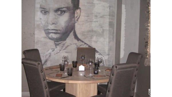 Table dressée - Le Mazot, Bourg-Saint-Maurice